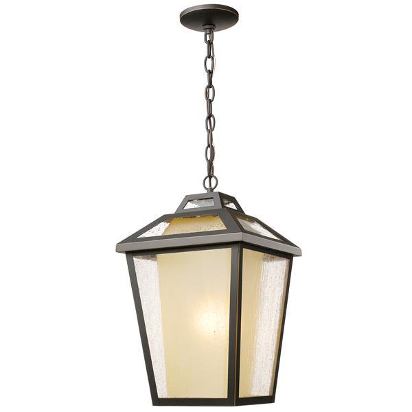 Luminaire suspendue extérieure à 1 lumière Memphis