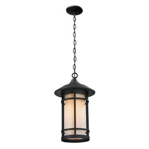 Z-Lite Woodland Outdoor Suspended Light - Black