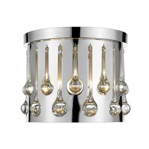 Plafonnier à 3 lumières Oberon, chrome