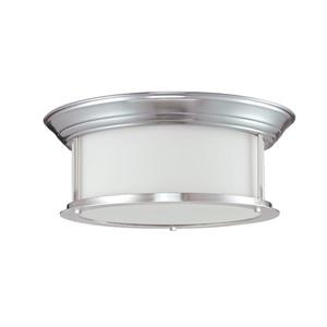 Z-Lite Sonna 3-Light Brushed Nickel Ceiling Light