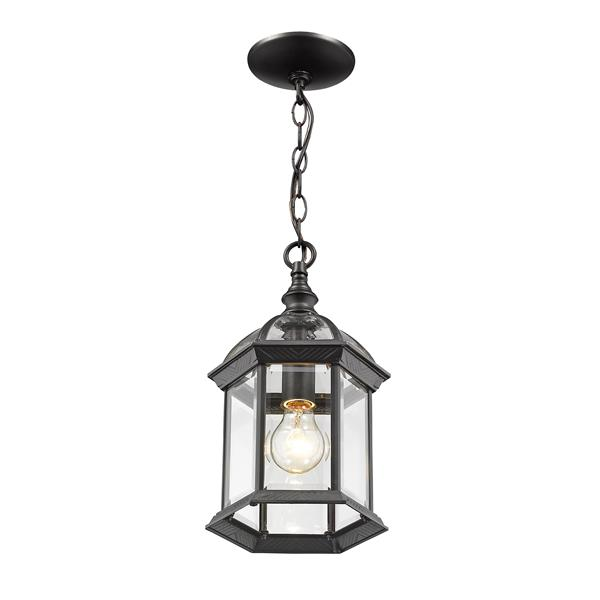 Z-Lite Annex 1-Light Outdoor Suspended Light - Black