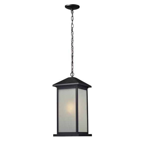 Z-Lite Vienna Outdoor Suspended Light - Black