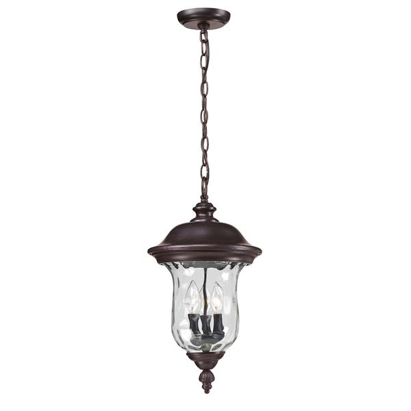 Z-Lite Armstrong Outdoor Suspended Light - Bronze