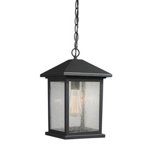 Z-Lite Portland 1-Light Outdoor Suspedned Light - Oil Rubbed Bronze