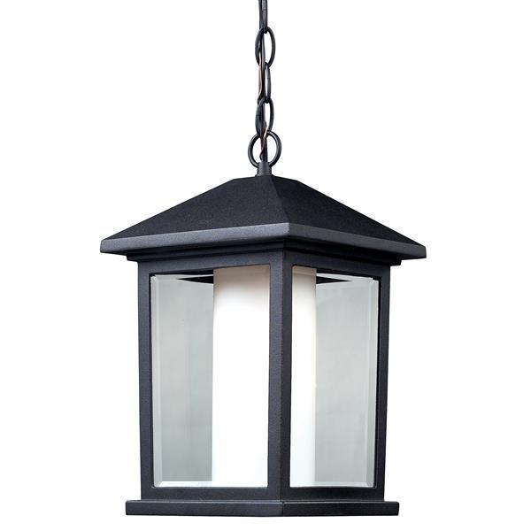 Z-Lite Mesa 1-Light Outdoor Suspended Light - Black