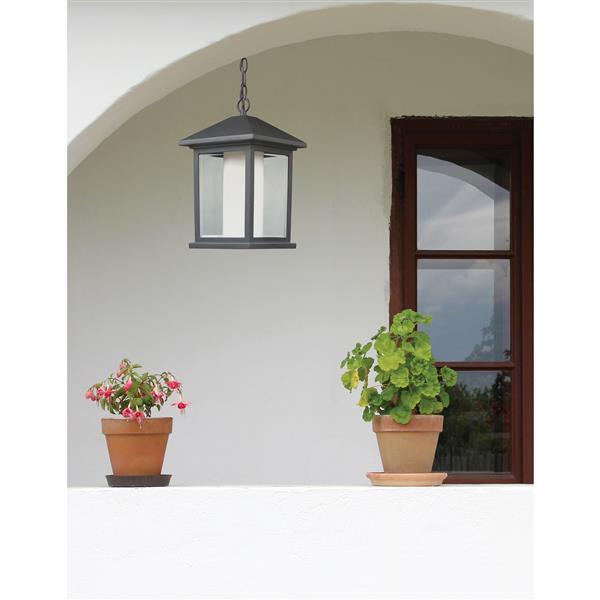 Z-Lite Mesa Outdoor Suspended Light - Black