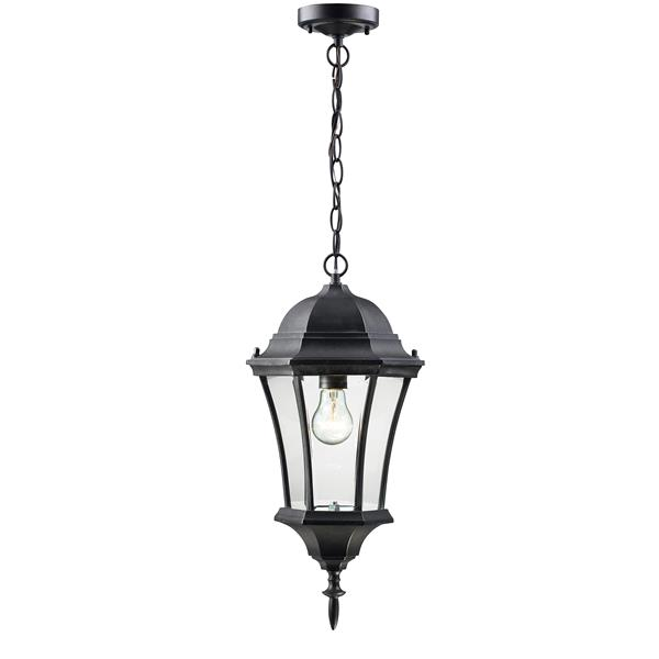 Z-Lite Wakefield Outdoor Suspended Light - Black