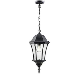 Z-Lite Wakefield Outdoor Suspended Light - Black