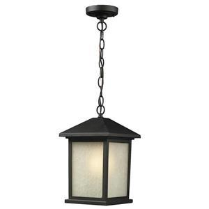 Holbrook Outdoor Suspended Light - Black
