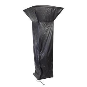 Paramount Black Vinyl 37-in x 89-in Patio Heater Cover
