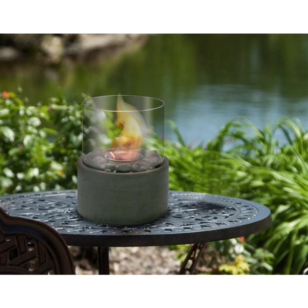 Paramount Ceramic Grey Outdoor Table Firepit