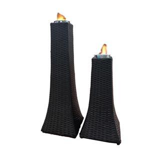Brûleurs de gel Towers, résine, ensemble de 2