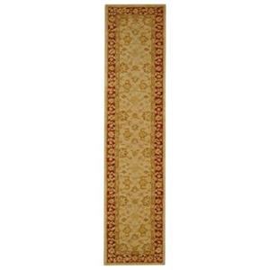 Safavieh Anatolia 27-in Ivory/Red Runner