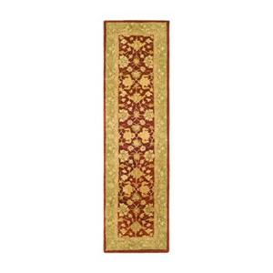 Safavieh Anatolia 27-in Red/Moss Runner