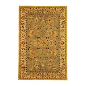 Safavieh Anatolia 27-in Blue/Ivory Runner