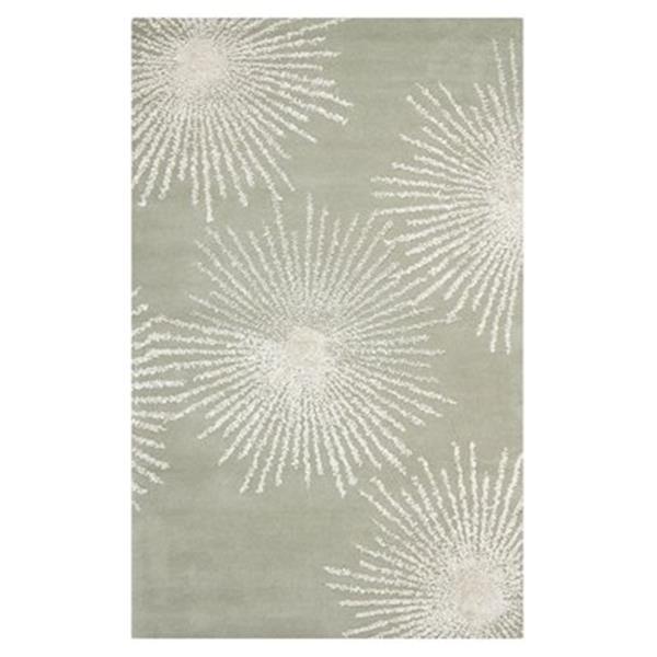 Safavieh Soho 5.5-ft x 3.5-ft Grey/Ivory Area Rug