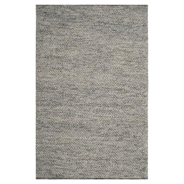 Safavieh Natura 4-ft x 6-ft Camel and Grey Rectangular Hand Tufted Area Rug