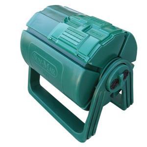 Composteur à tambour, 50 gallons, vert