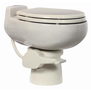 Sun-Mar Off-White Ceramic Ultra-Low-Flush Toilet