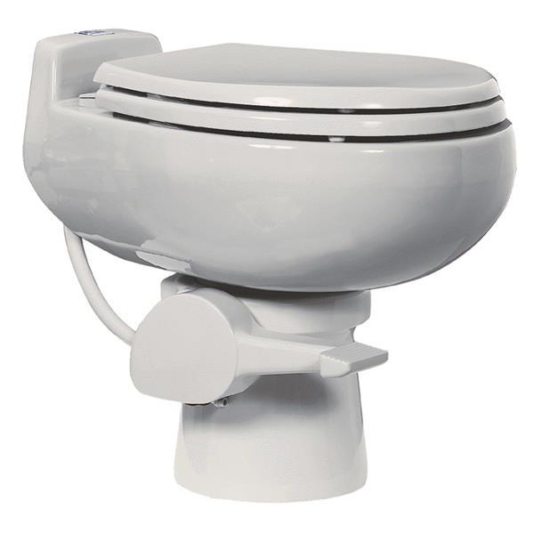 Toilette à très faible débit, céramique, blanc