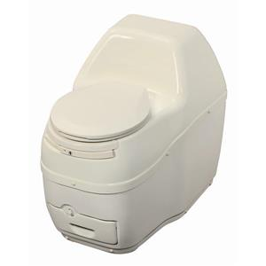 Sun-Mar Compact Off-White Composting Toilet