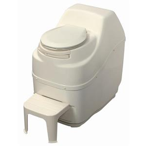 Sun-Mar Composting Off-White High Capacity Electric Toilet