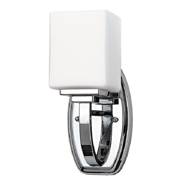 "Russell Lighting Vienna Vanity Light - 1 Light - 4.75"" - Polished Chrome"