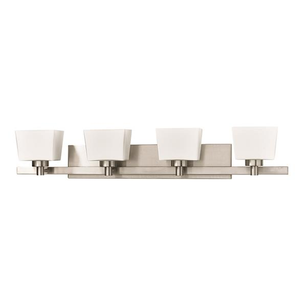 Russell Lighting 4-Light Wall-Mounted Light - 36.25-in - Chrome