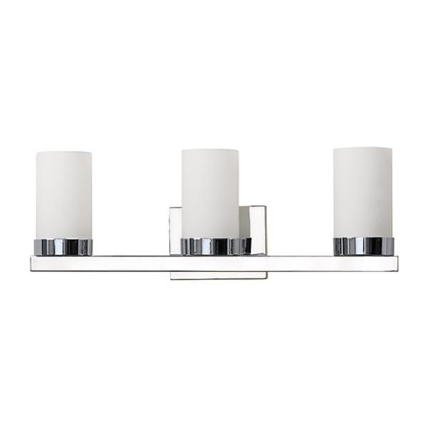 Russell Lighting 3-Light Wall-Mounted Light - 23-in- Polished Chrome