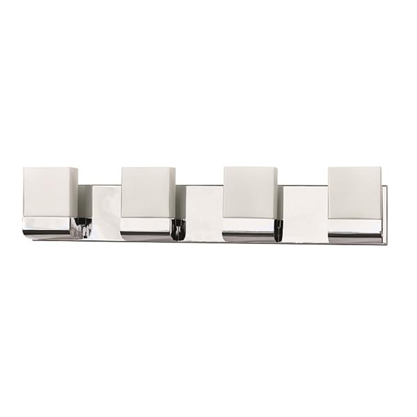 Russell Lighting 4-Light Wall-Mounted Light - 28.5-in- Polished Chrome
