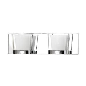 2-Light Wall-Mounted Vanity Light - 15.75