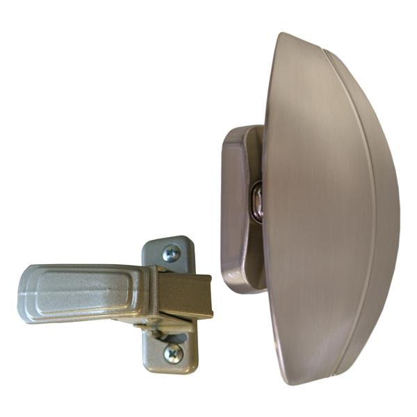 Ideal Security HP Brass E-coat Pull Handle Set