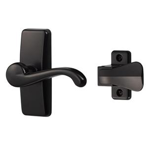 Ideal Security GL Black Lever Set