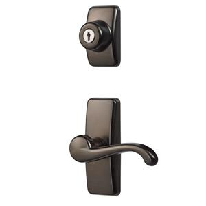 Ideal Security GL Oil Rubbed Bronze Lever Set With Deadbolt