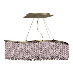 Classic Lighting Bedazzle 34-in Chrome Modern Crystal Pendant