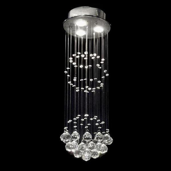Warehouse of Tiffany Crystal 10-in W Chrome Flush Mount Light