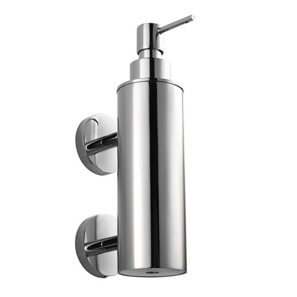 WS Bath Collections Duemila Polished Chrome Soap and Lotion Dispenser