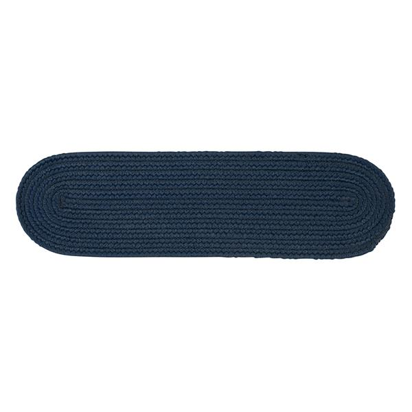 Colonial Mills Boca Raton 8-in x 28-in Oval Jasmine Stair Tread Mat - 13/pack