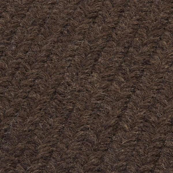Colonial Mills Courtyard 8-ft x 11-ft Cocoa Area Rug