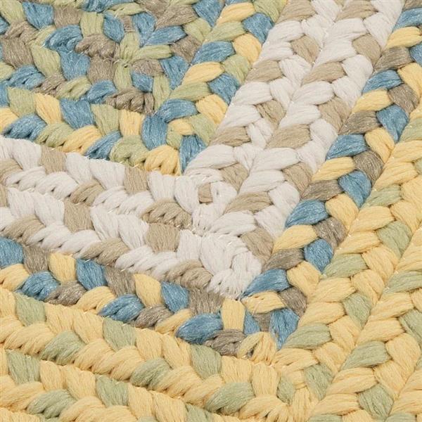 Colonial Mills Montego 8-ft x 11-ft Sundance Indoor/Outdoor Handcrafted Area rug