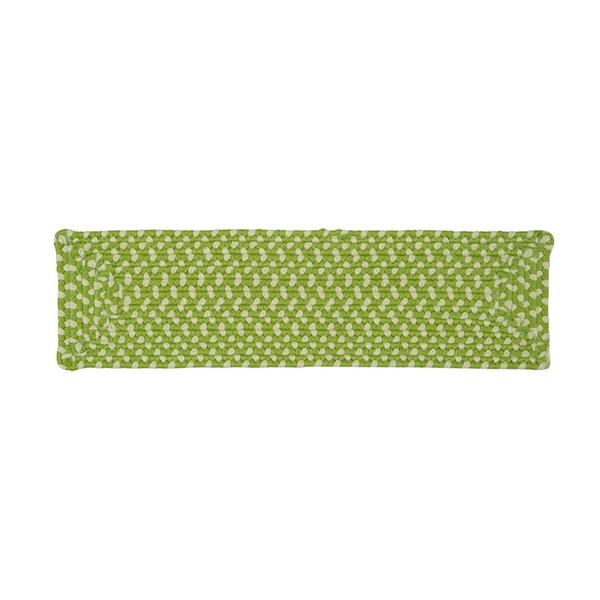 Colonial Mills 8-in x 28-in Montego Green Rectangular Stair Tread Mat