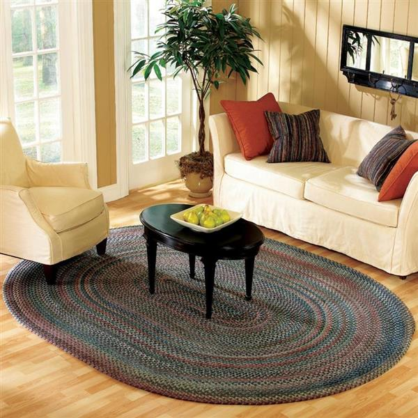 Colonial Mills Oak Harbour 2-ft x 8-ft Dusk Runner Rug