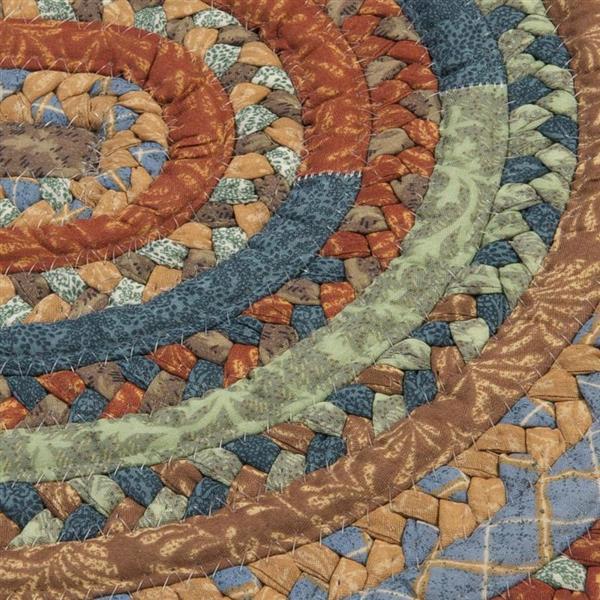 Colonial Mills Olivera 2-ft x 8-ft Vintage Blue Runner Rug