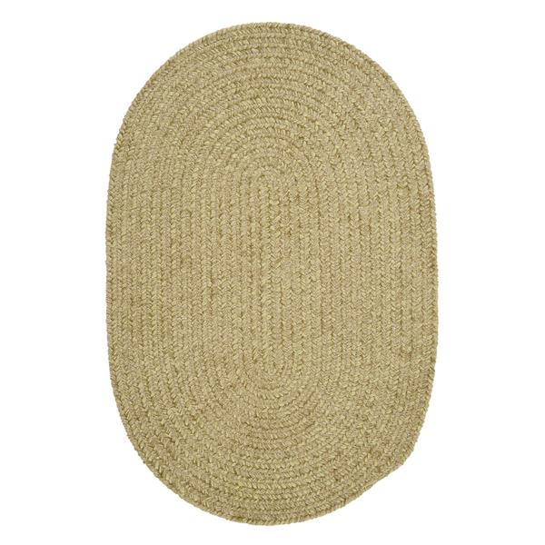 Colonial Mills Spring Meadow 5-ft x 8-ft Oval Indoor/Outdoor Sprout Green Area Rug