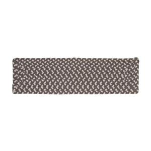 Colonial Mills Tiburon 8-in x 28-in Misted Gray Rectanglular Stair Tread Mat - 13/pack