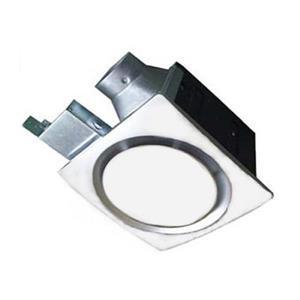 Aero Pure ENERGY STAR 1-Sone 70-CFM White Bathroom Fan