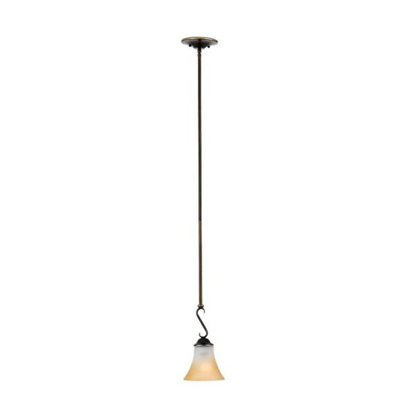 Quoizel Duchess 6-in Polished Chrome Transitional Bell Mini Pendant Lighting