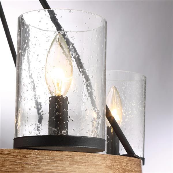 Quoizel Lounge Italian Fresco 5-Light Traditional Candle Chandelier