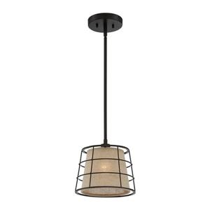 Quoizel Landings Imperial Bronze Transitional Bowl Pendant
