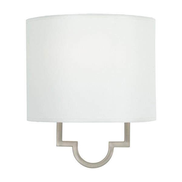 Quoizel Millennium 9-in Pewter 1 Light Pocket Wall Sconce